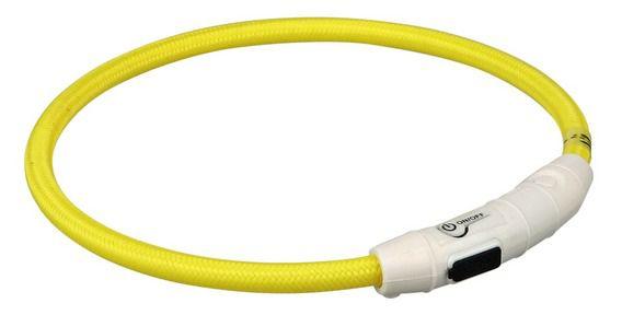Trixie - USB Flash Leuchtring Leuchthalsband - KOSTENLOS ab 80 Euro Bestellwert