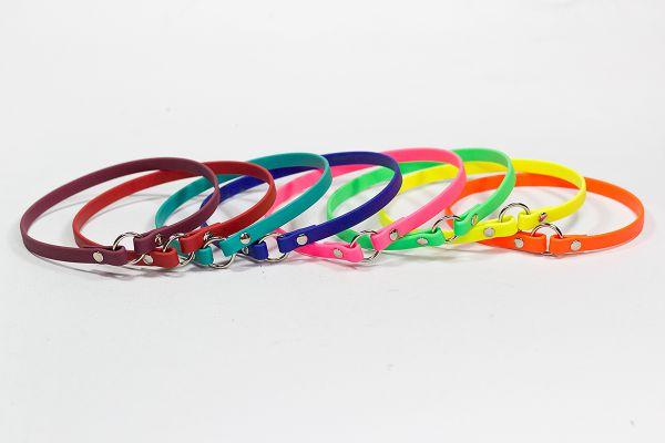 Bellepet - leichtes Halsband aus Biothane für kleine und mittlere Hunde