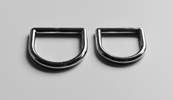 Bellepet D-Ring Chrom