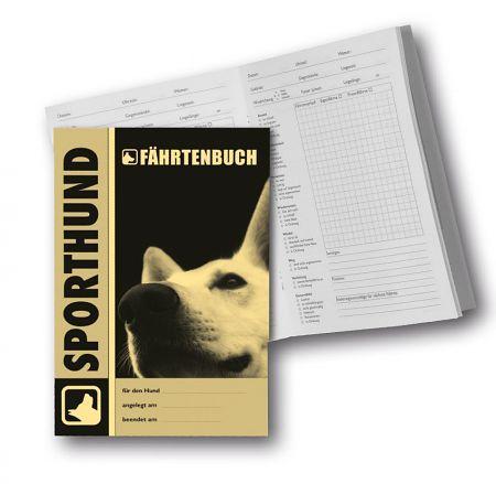Sporthund - Fährtenbuch für 36 Fährten