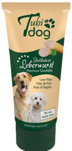 Tubi Dog Leberwurst 75g