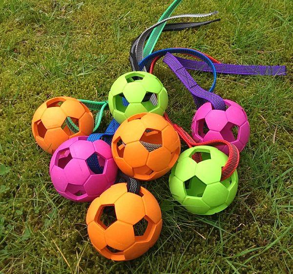 Bellepet - Wabenball mit gummiertem Nylonband