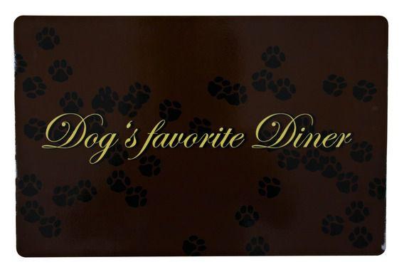 Trixie - Napfunterlage Dogs favorite diner