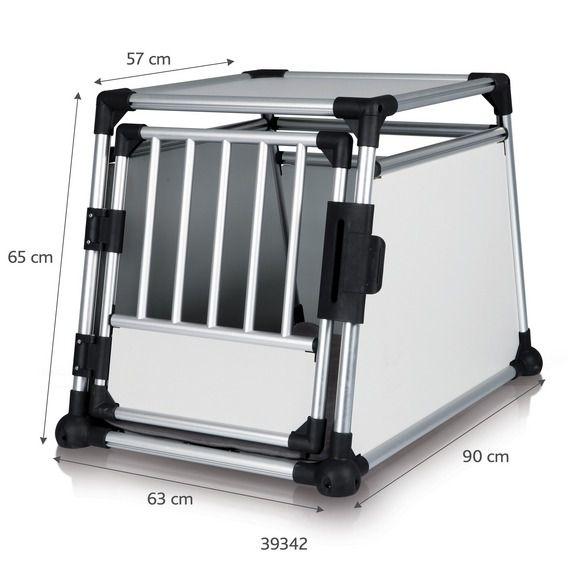 Trixie - Transportbox aus Aluminium