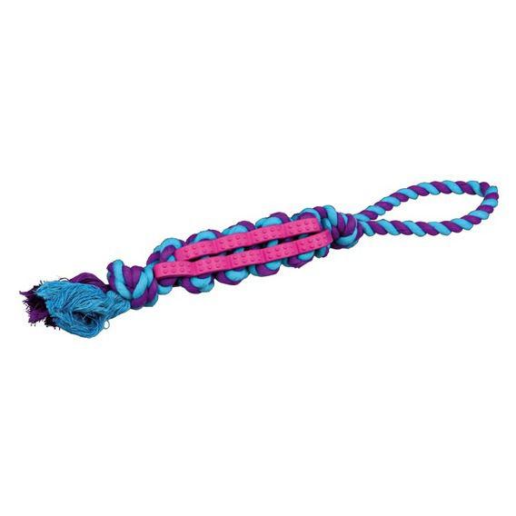 Trixie - Denta Fun Twisted Stick mit Schlaufe
