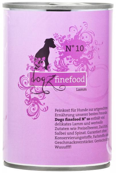 Dogz finefood No. 10 Lamm 400g