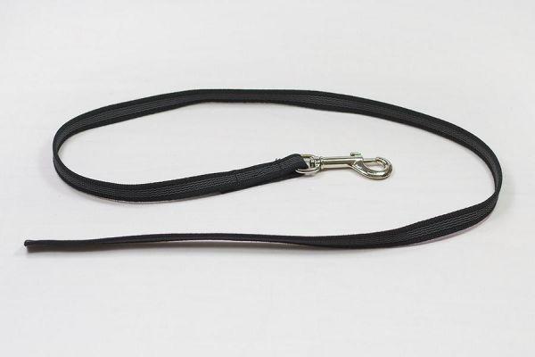 Bellepet - gummierte Nylonleine / Führleine 1m ohne Handschlaufe - GRATIS ab 50 Euro Bestellwert