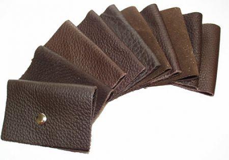Fährtengegenstände aus Leder (10 Stück)