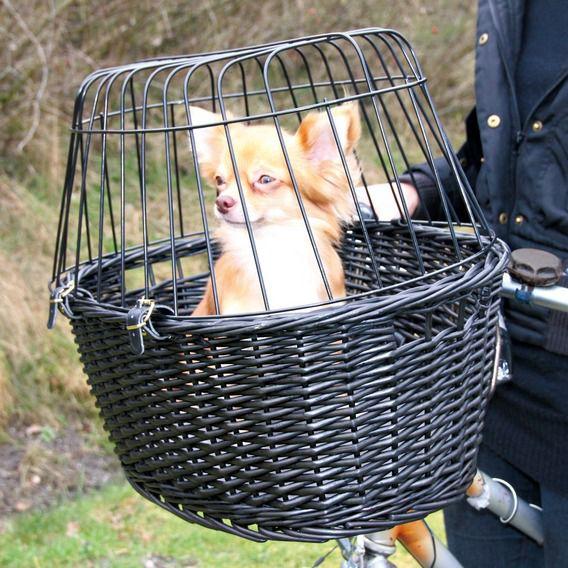 Trixie - Fahrradkorb aus Weide