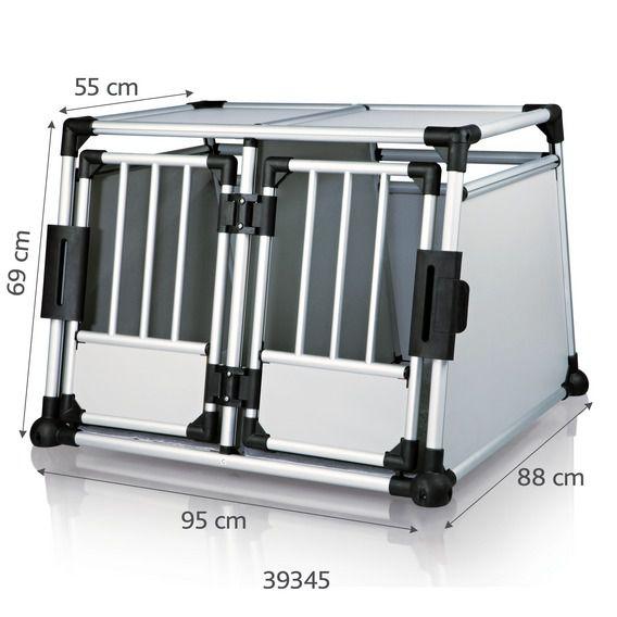 Trixie - Doppelbox aus Aluminium